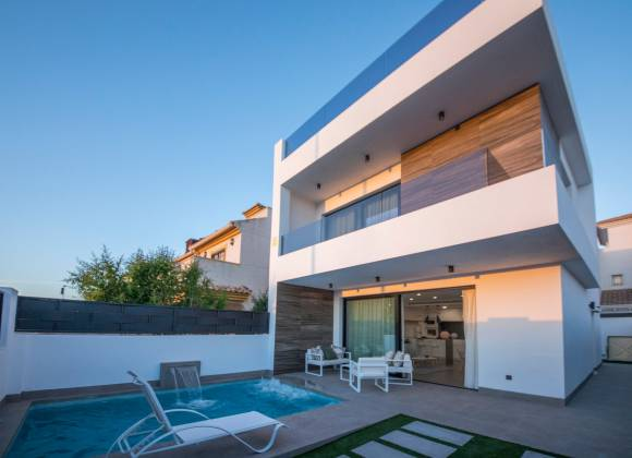 Villa - New Build - San Javier -  - Santiago de Ribera