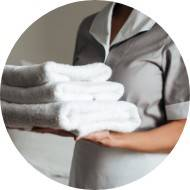 Housekeeping <strong>  Cleaning and Laundry</strong>